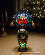 Stained Glass lamp repair