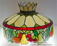 Stained Glass Fruit Lamp Repair
